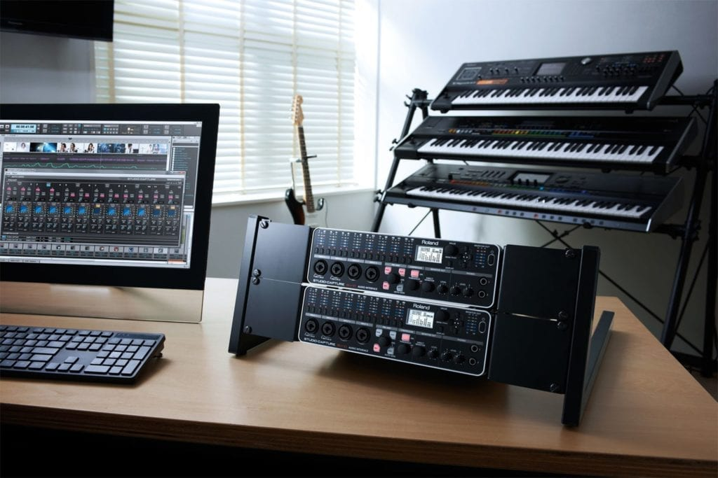 The Roland Studio-Capture works well for both Mac and Windows operating systems.