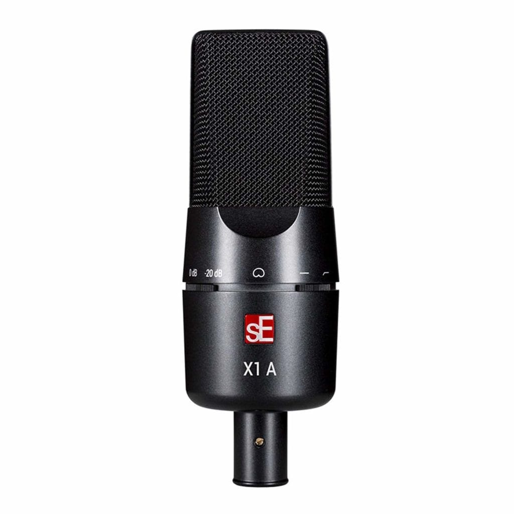 The sE X1 A is the most affordable microphone on this list.