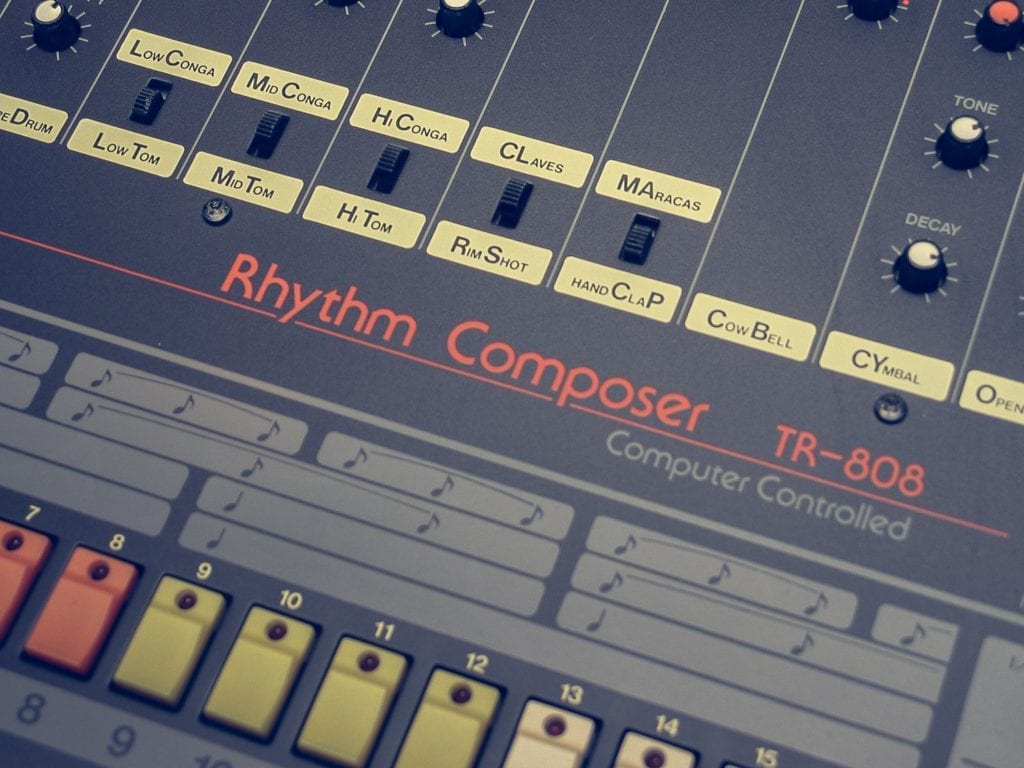 The 808 is often the loudest dynamic in a hip-hop or rap master.