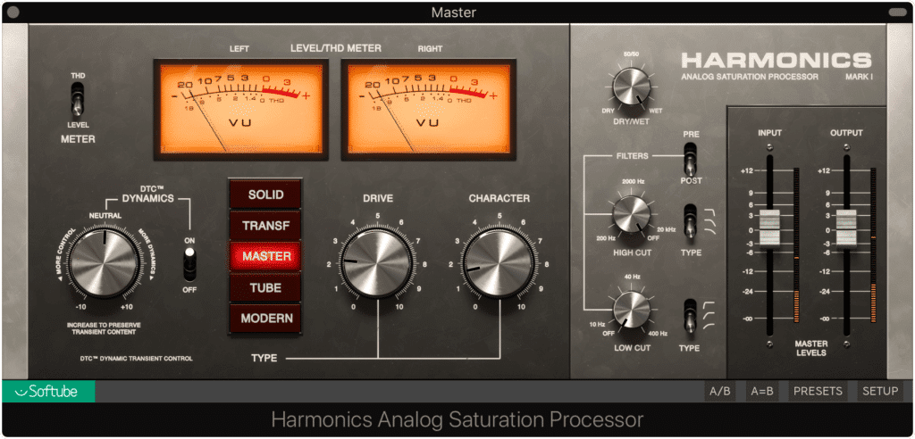 Keep harmonic generation to a minimum as well
