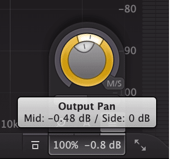 The simplest way to add width is by adjusting the output.