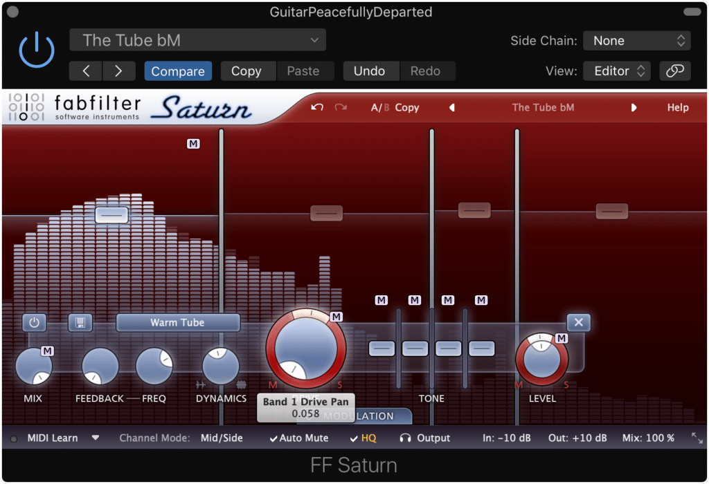 Plugins other than equalizers have Mid-Side capabilities.