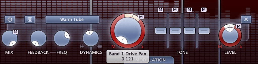 Find additional functions to pan to the side image, like the drive.