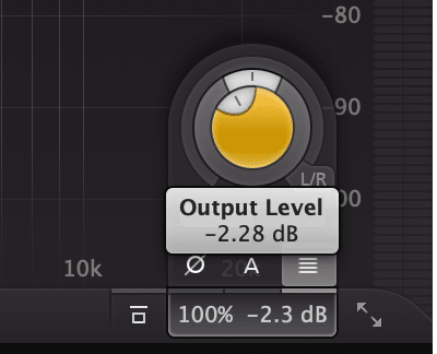 If a subsequent plugin attenuates the signal, clipping distortion will not show up in the meters.