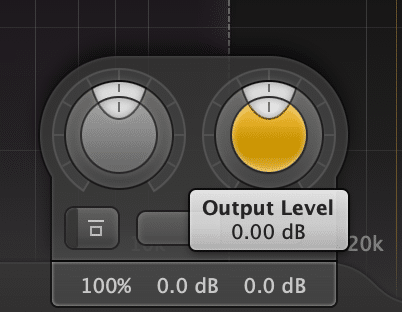 """Some compressors don't have a """"make-up"""" gain function, so adjusting the band's gain, or the output will suffice."""