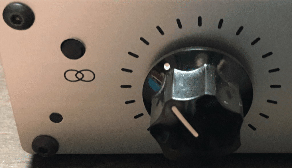 A crossover function negates the signal isolation often associated with headphones.
