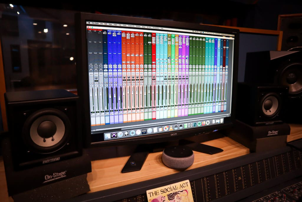 Mix sessions do not result in a final product, whereas stem mastering sessions do.