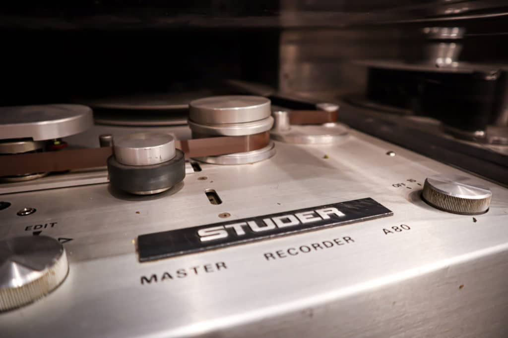 The medium of Tape, as well as the transistors and transformers in a tape machine, can be saturated