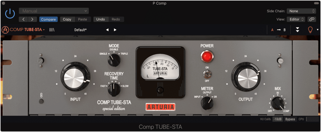 Parallel compression allows for low-level compression.