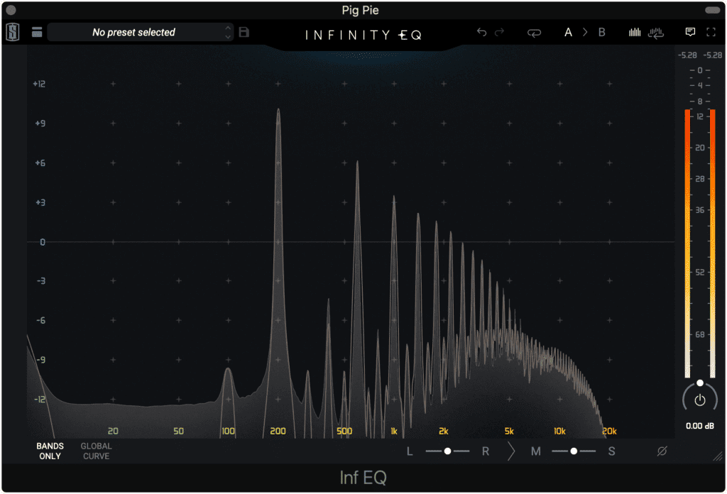 Notice how the sustain function affects the signal.