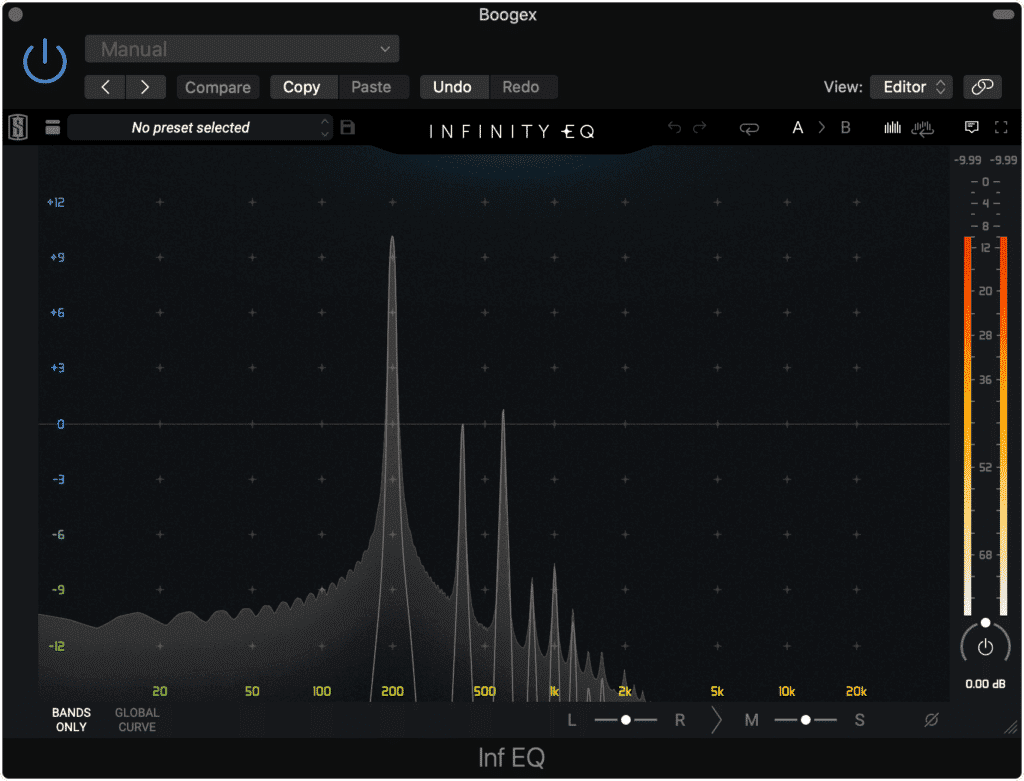 The harmonics included truly depend on the multitude of settings you can choose.