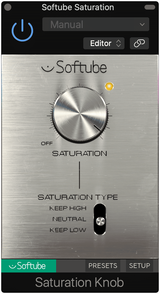 The Saturation Knob is a classic free distortion plugin.