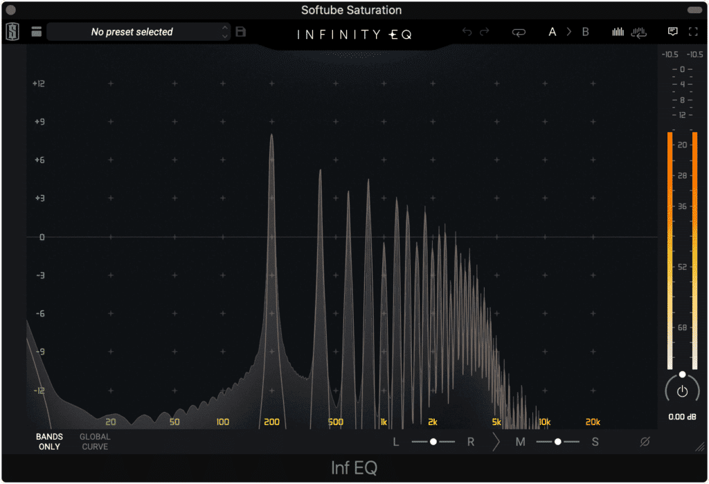 It can create great sounding harmonics that are suitable for both instruments and full mixes.