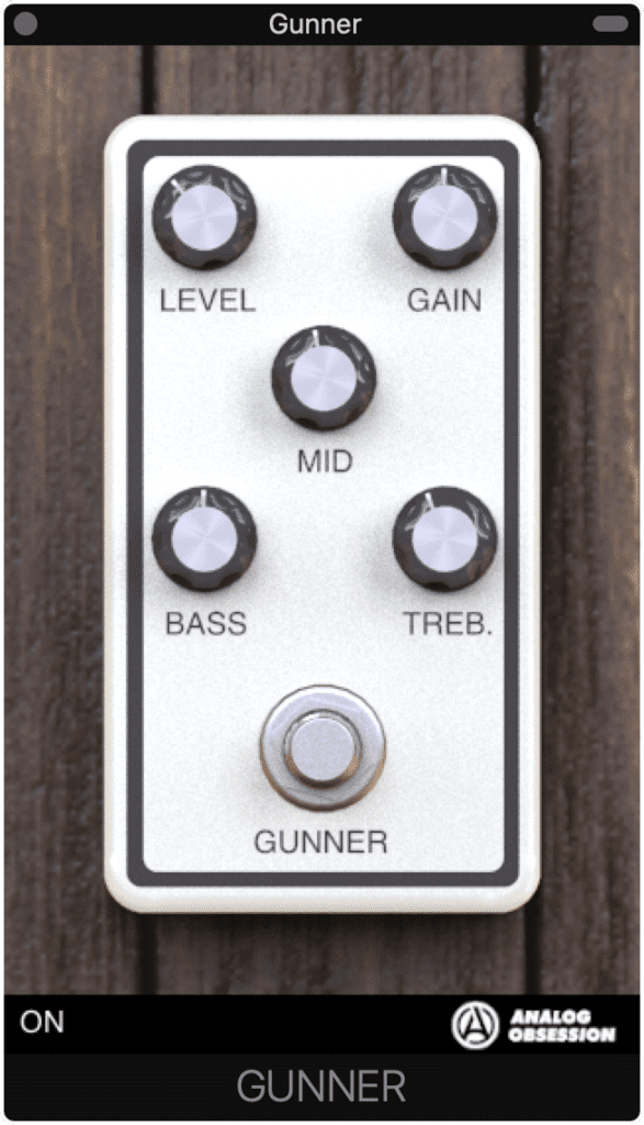 The Gunner provides both distortion and broadband equalization.