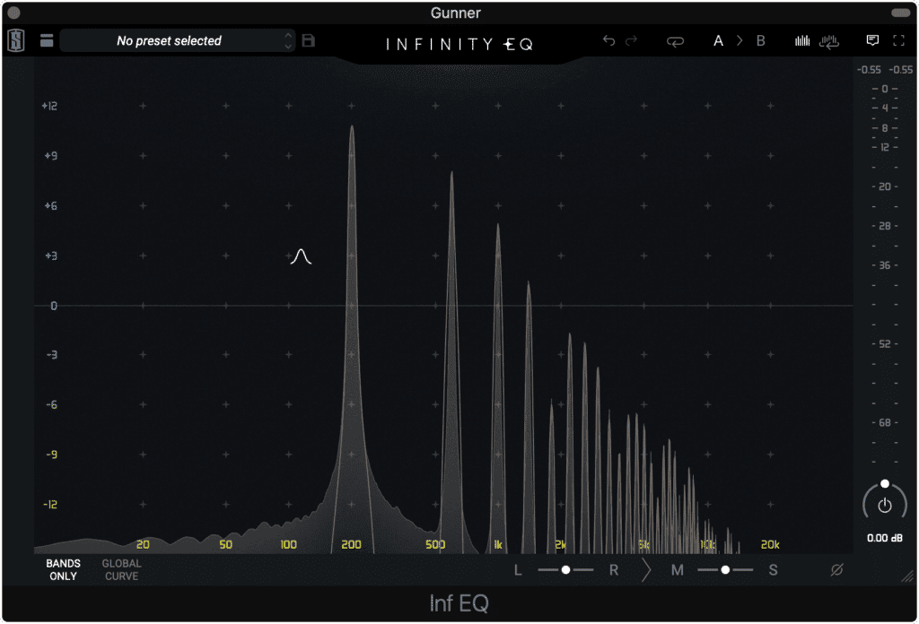 Harmonics are both high and low order.