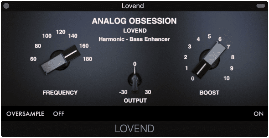 The Lovend is a great choice for low-frequency instruments.