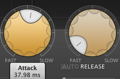 A longer attack and slower release will compress less, and allow the vocal to keep its timbre.