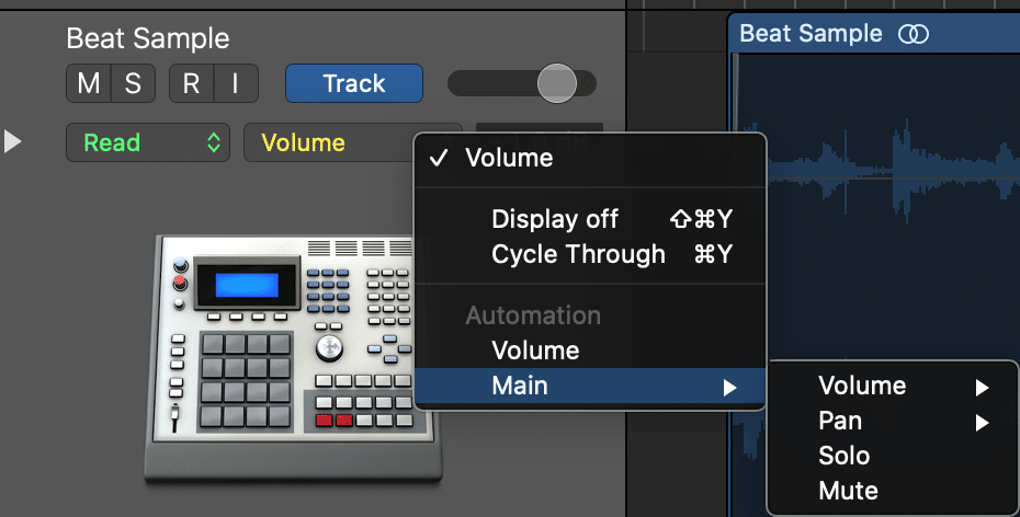 Just like volume automation, you can automate your sends and the value of your plugin's functions.