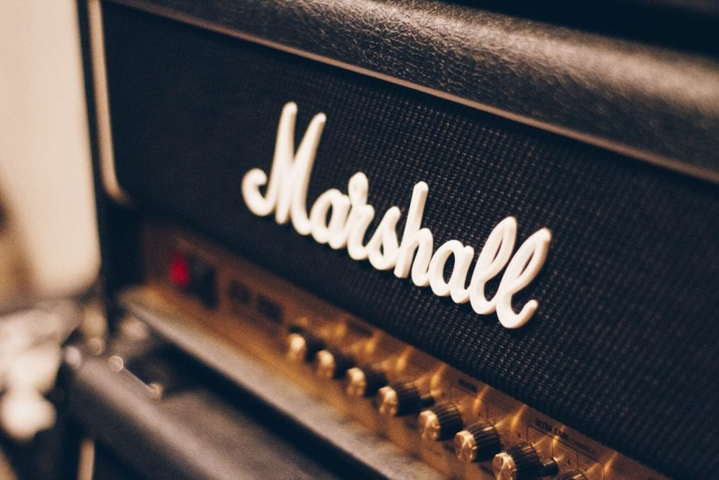 Amplification is also driven to the point of saturation during recording sessions.