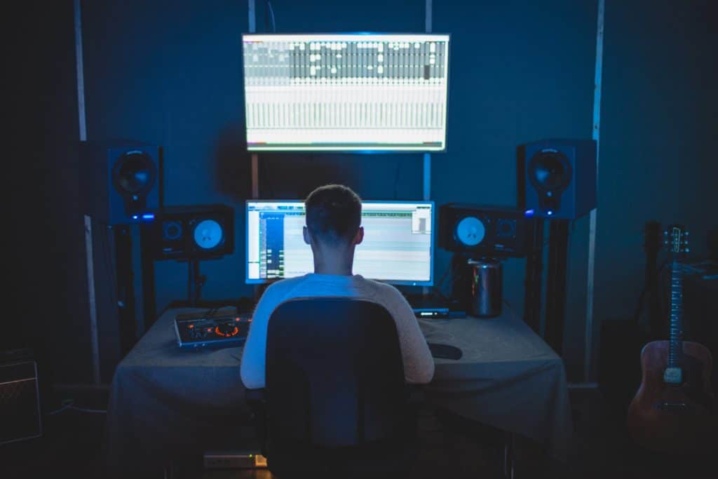 During mixing, saturation can be used for both technical and creative purposes.