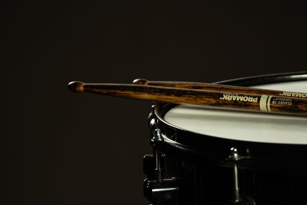 Drums should be the first instrument recorded and should serve as a recording session's foundation.