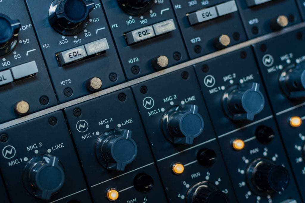 Some channel strips and preamps impart very pleasant saturation when driven.