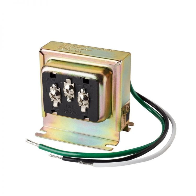 Pictured here is a transformer - a popular electrical component that can saturate when the incoming electrical signal is strong enough.