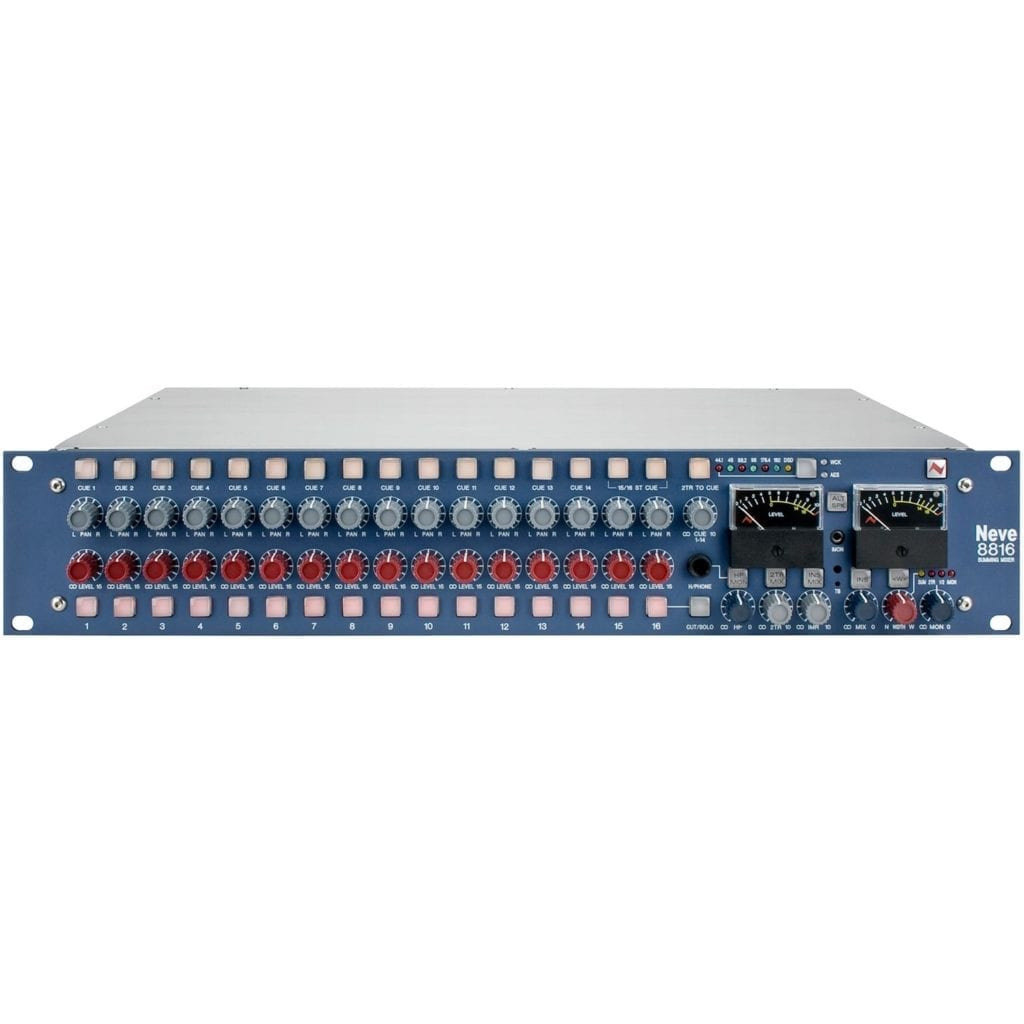 The 8816 accomplishes classic Neve tonality