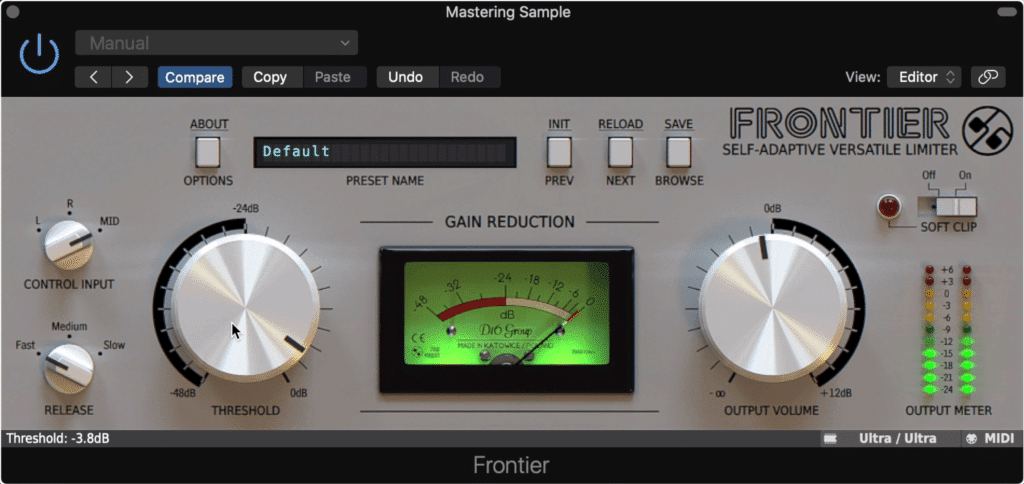 The Frontier is a powerful limiter.