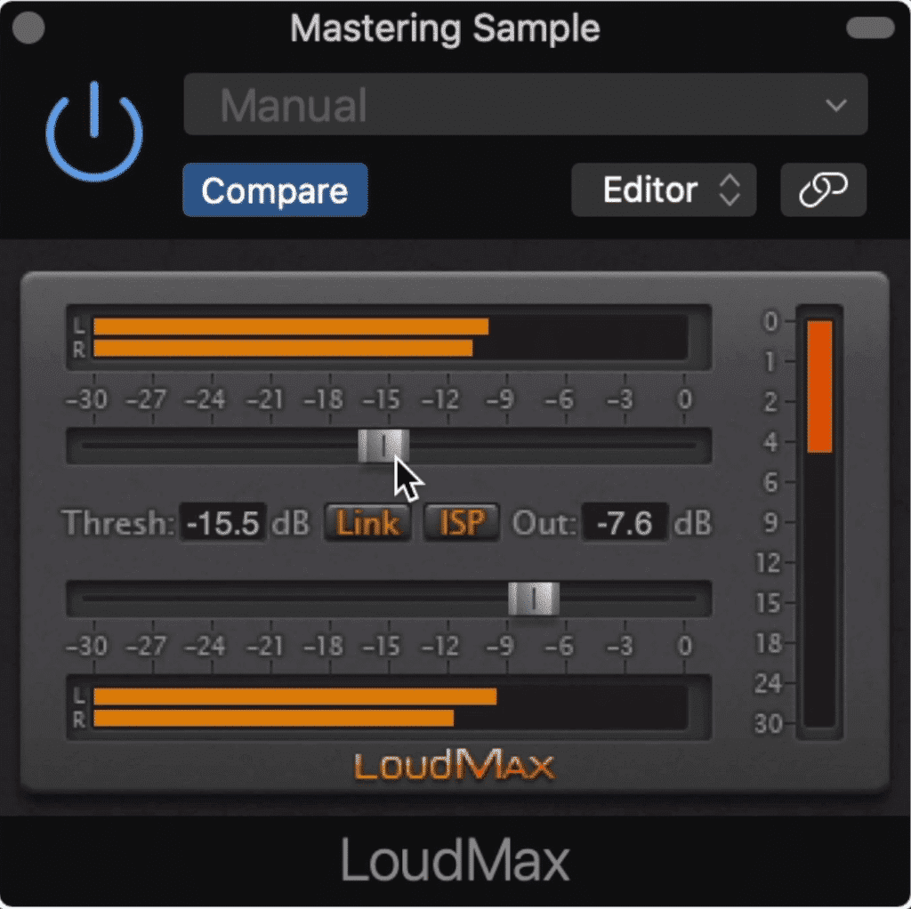 LoudMax is a simple but powerful limiter, similar to the Waves L1