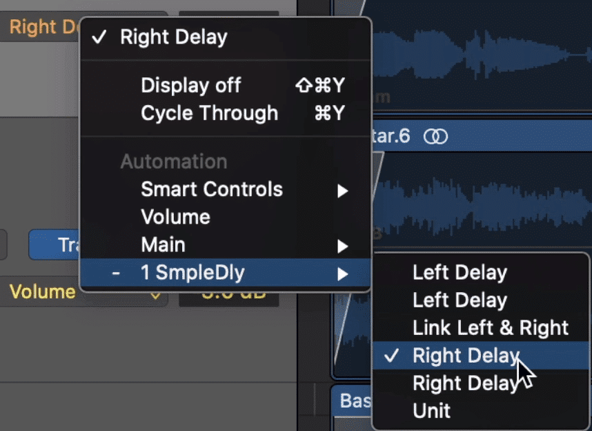 Your plugin will most likely have many parameters that you can control.