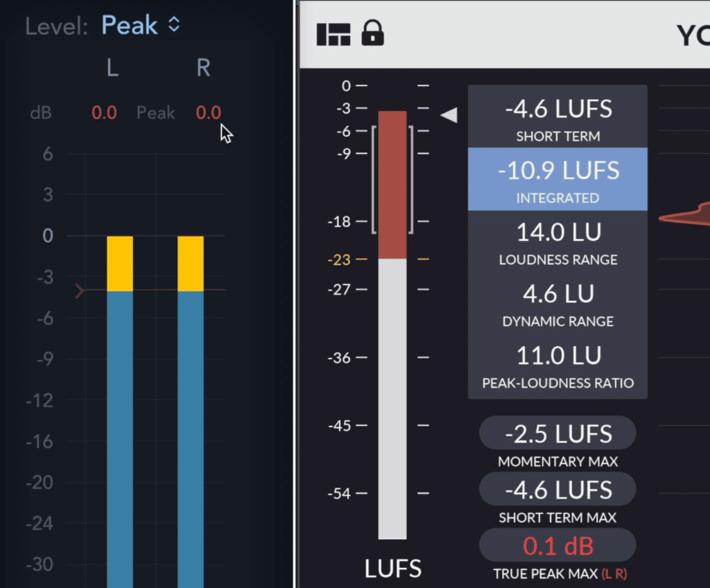 There can be inter-sampling clipping even when regular peak meters don't show clipping.
