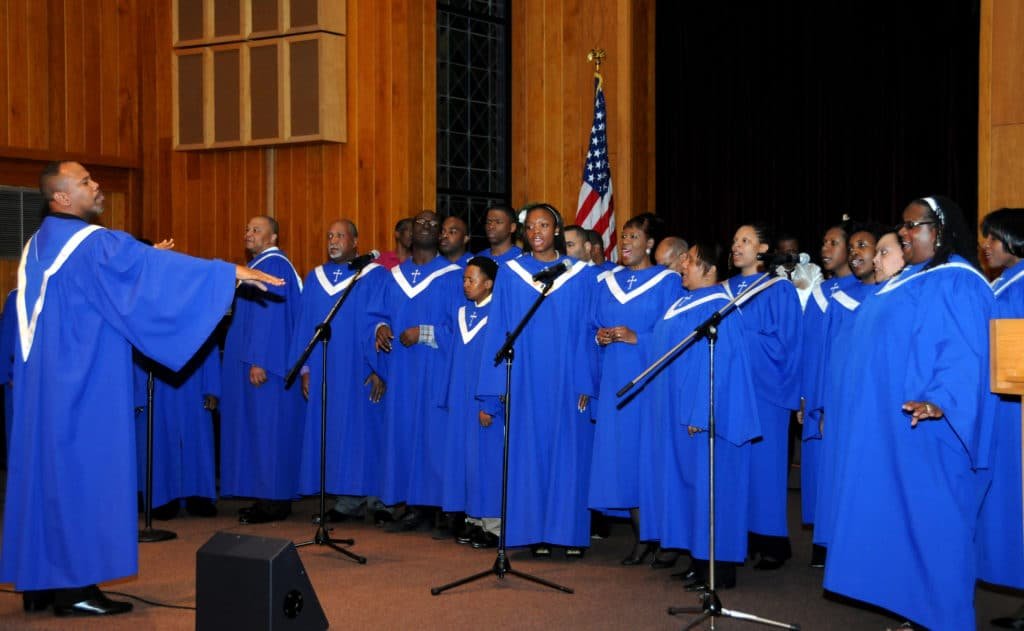 Church-like reverberation has always played a role in Gospel music.