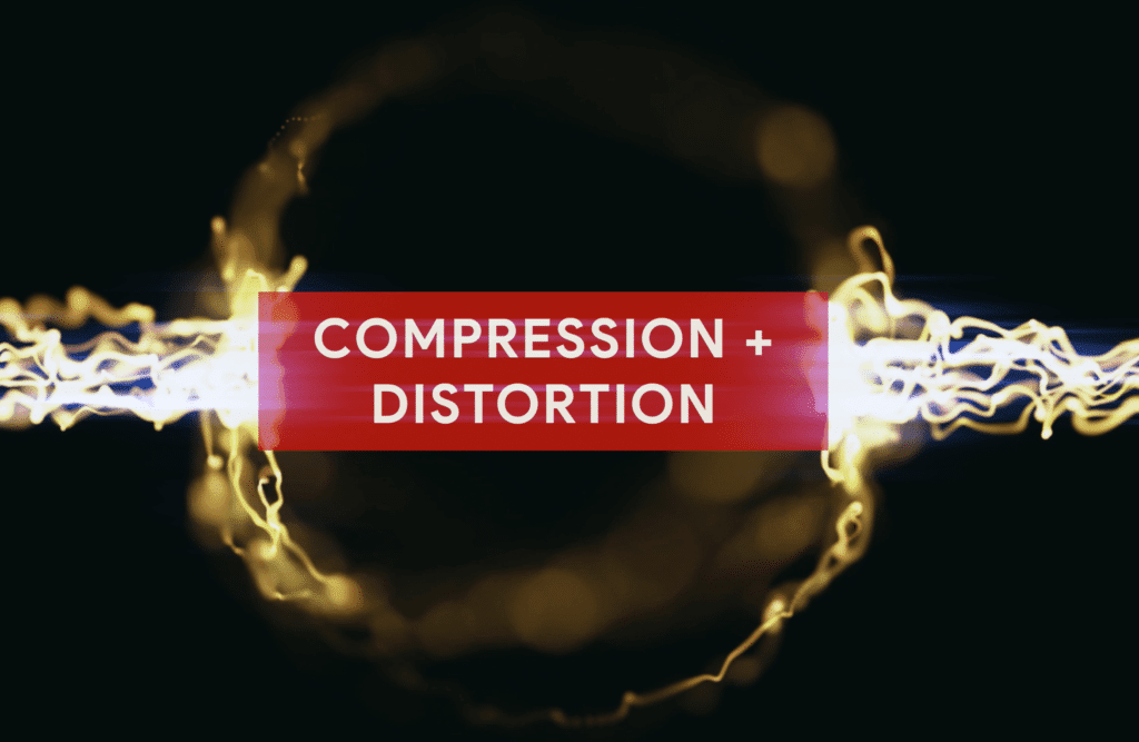 Saturation is a combination of both compression and distortion.