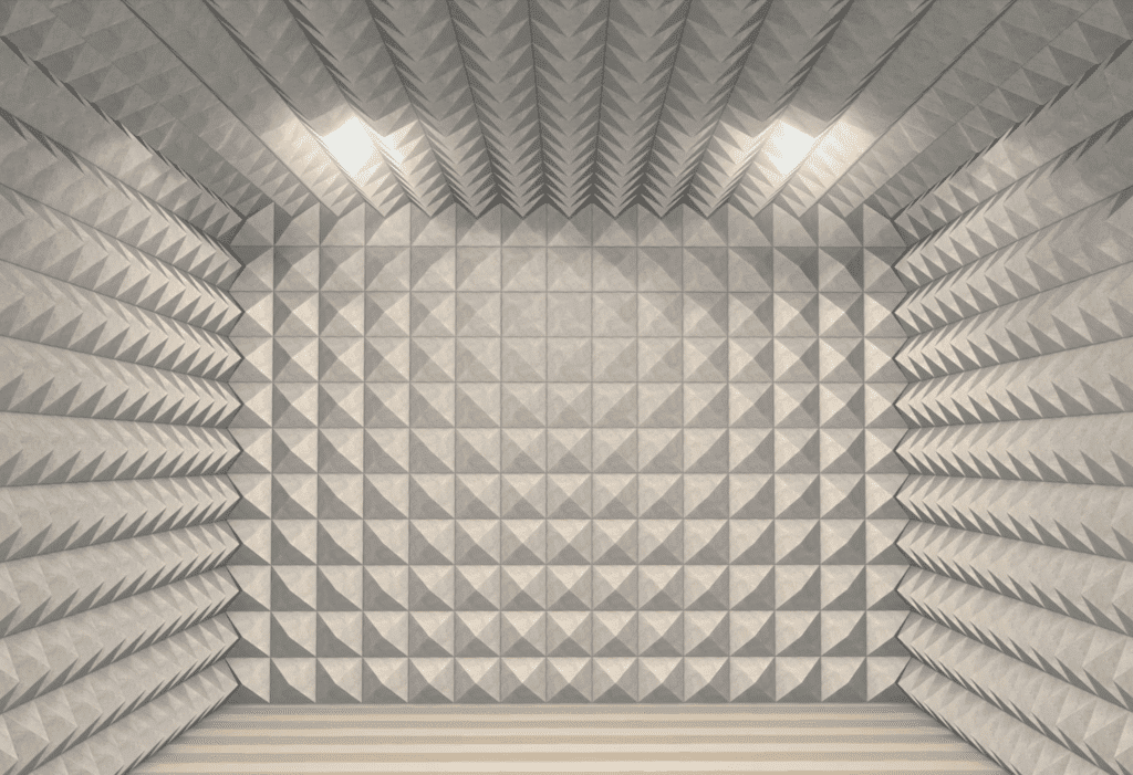 Although this level of isolation may not be possible, still attempt to soundproof your room.