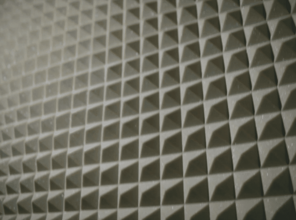 Use material like this or similar material to soundproof your room.