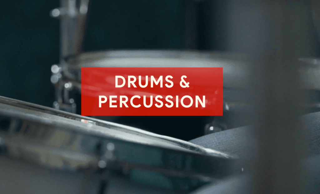 Drums need to be recorded first to ensure the correct timing of all layers of the recording.