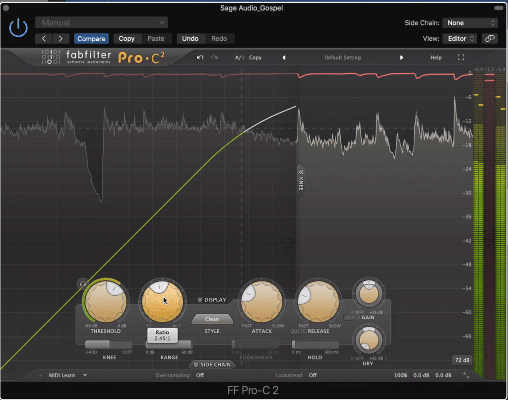 Compression can greatly impact the timbre of your master, and either augment or detract from a natural sound.