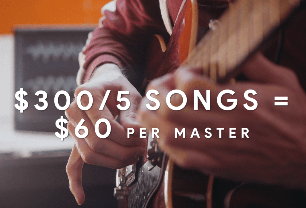 If you didn't finish as many songs as you would've liked, you're spending more money on mastering than you would have with a professional mastering engineer.