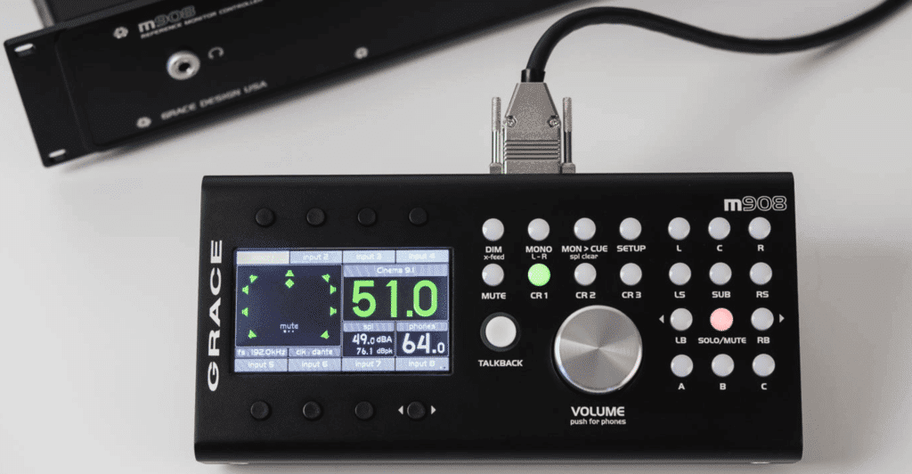 The controller offers in-depth customization of your signal's routing and calibration.