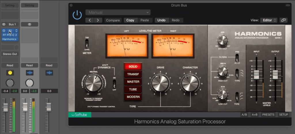 You can also use one before and after the compression, to create the most complex and impact sound.