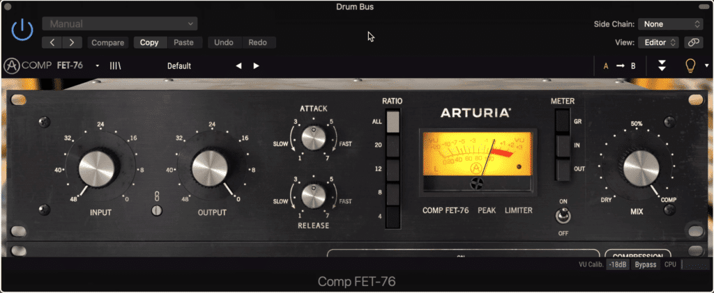 The emphasis and de-emphasis technique is great for when you're using a bus compressor that doesn't support multiband.