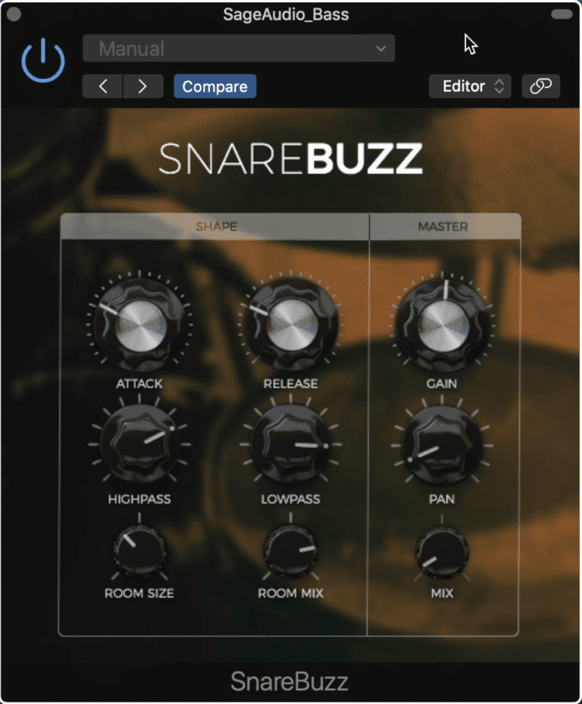 Snare Buzz adds a snare buzz whenever an instrument is played.