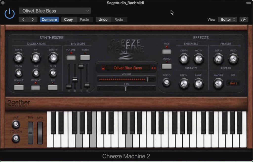 The Cheeze Machine 2 is a simple yet powerful synth plugin