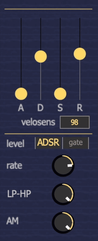 The ADSR of the signal can be affected.