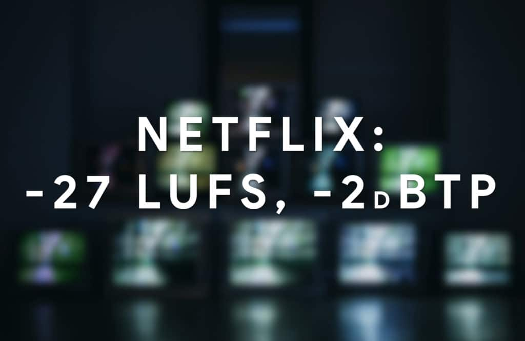 Netflix doesn't use normalization - this is the max accepted loudness for the signal