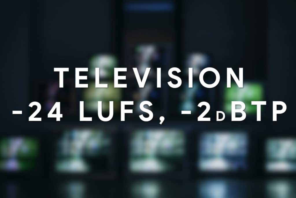Television doesn't use normalization - this is the max accepted loudness for the signal