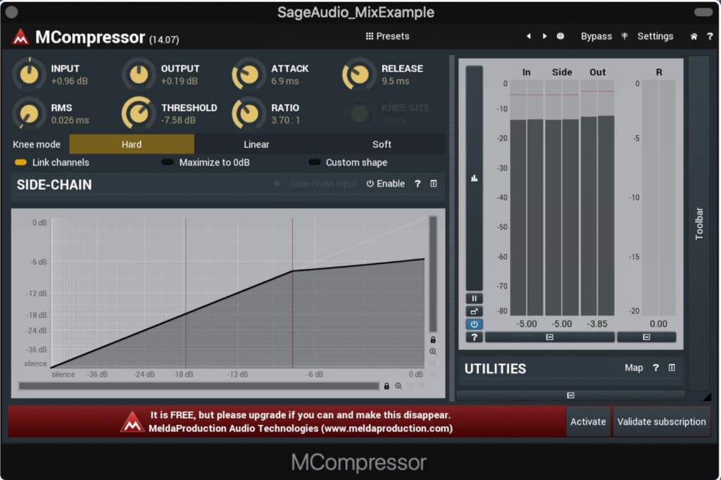 The MCompressor is free, and offers a lot of great options.