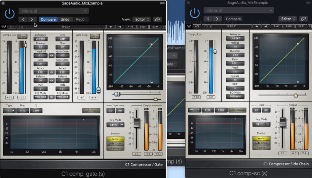 When you purchase this plugin, it also comes with variations of the compressor.