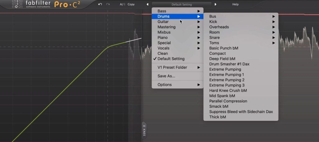 The plugin offers over 100 presets to get you started.